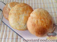 Фото к рецепту: Бутербродные булочки из дрожжевого теста