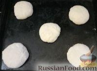 Фото приготовления рецепта: Бутербродные булочки из дрожжевого теста - шаг №4