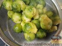 Фото приготовления рецепта: Брюссельская капуста запеченная - шаг №6