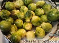 Фото приготовления рецепта: Брюссельская капуста запеченная - шаг №7