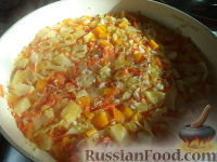 Фото приготовления рецепта: Ленивые голубцы без мяса - шаг №10