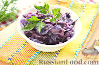 Фото к рецепту: Тушеная красная капуста со специями