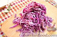 Фото приготовления рецепта: Тушеная красная капуста со специями - шаг №2