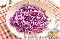 Фото приготовления рецепта: Тушеная красная капуста со специями - шаг №3