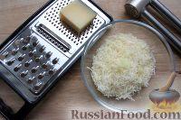 Фото приготовления рецепта: Горячие бутерброды с сыром и помидорами - шаг №3