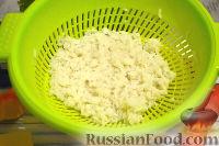 Фото приготовления рецепта: Кальмары, фаршированные тыквой и рисом - шаг №2