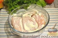 Фото приготовления рецепта: Кальмары, фаршированные тыквой и рисом - шаг №9