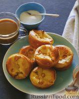 Фото к рецепту: Поповеры с яблоками