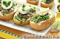 Фото к рецепту: Бутерброды с перепелиными яйцами