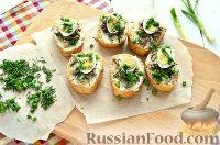 Фото приготовления рецепта: Бутерброды с перепелиными яйцами - шаг №8