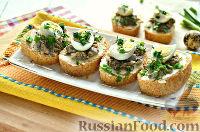 Фото приготовления рецепта: Бутерброды с перепелиными яйцами - шаг №9