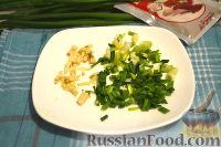 Фото приготовления рецепта: Кальмары, фаршированные творогом и креветками - шаг №2