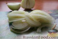 Фото приготовления рецепта: Фунчоза с куриным филе и овощами - шаг №7