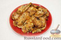 Фото приготовления рецепта: Драники с грибами (постные) - шаг №5