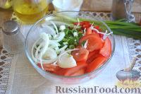 Фото приготовления рецепта: Шаурма с курицей - шаг №8