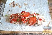 Фото приготовления рецепта: Шаурма с курицей - шаг №12