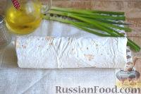 Фото приготовления рецепта: Шаурма с курицей - шаг №13