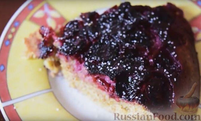 Рецепт торта из вишни в мультиварке