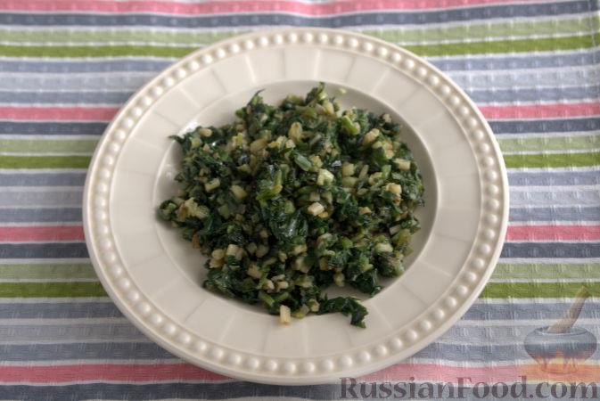 Фото приготовления рецепта: Дрожжевые булочки-завитки с грушей и корицей - шаг №21