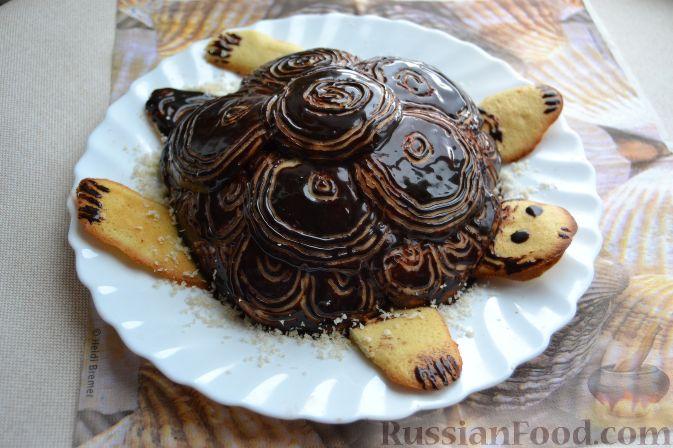 Торт черепаха рецепт домашний 139