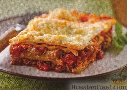 лазанья по-итальянски рецепт