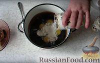 Фото приготовления рецепта: Шоколадный торт - шаг №4