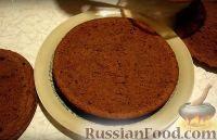 Фото приготовления рецепта: Шоколадный торт - шаг №6