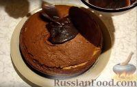 Фото приготовления рецепта: Шоколадный торт - шаг №9