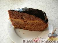 Фото приготовления рецепта: Шоколадный торт - шаг №10