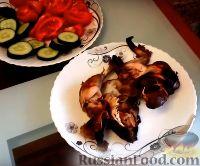 Фото к рецепту: Курица в коптильне