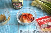 Фото приготовления рецепта: Цветная капуста, запеченная в маринаде - шаг №5