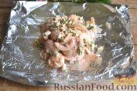 Фото приготовления рецепта: Цветная капуста, запеченная в маринаде - шаг №7