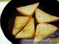 Фото приготовления рецепта: Тосты с брынзой - шаг №3