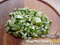 Фото приготовления рецепта: Тосты с брынзой - шаг №6