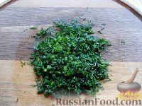 Фото приготовления рецепта: Тосты с брынзой - шаг №8