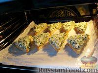 Фото приготовления рецепта: Тосты с брынзой - шаг №13