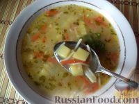 Фото к рецепту: Суп картофельный с макаронными изделиями