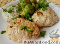 Фото к рецепту: Котлеты паровые с рисом