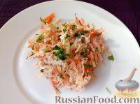Фото к рецепту: Салат из редьки с яблоками и морковью