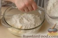 Фото приготовления рецепта: Пасхальный творожный кекс - шаг №6