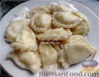 Фото к рецепту: Украинские вареники с творогом