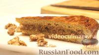 Фото к рецепту: Медовый пирог с орехами
