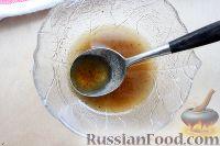Фото приготовления рецепта: Теплый салат из куриной печени - шаг №7