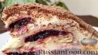 """Фото к рецепту: Торт """"Монастырская изба"""" (без выпечки)"""