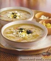 Фото к рецепту: Суп-пюре из колотого гороха, по-гречески