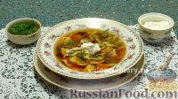 Фото к рецепту: Суп из сушёных грибов с домашней лапшой