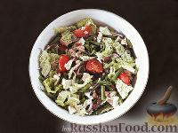 Фото к рецепту: Салат из фасоли по-тоскански