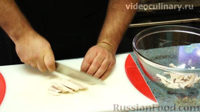 "Фото приготовления рецепта: Салат ""Американа"" - шаг №2"