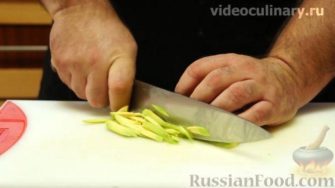 "Фото приготовления рецепта: Салат ""Американа"" - шаг №4"