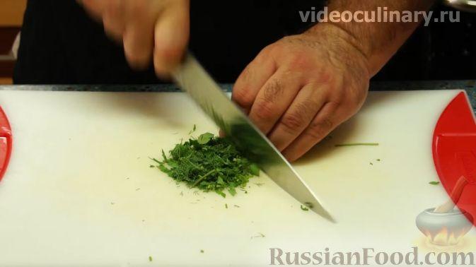 "Фото приготовления рецепта: Салат ""Американа"" - шаг №6"